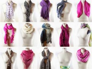 nouer un foulard