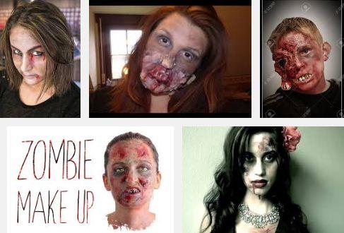 faire un maquillage de zombie en pratique. Black Bedroom Furniture Sets. Home Design Ideas